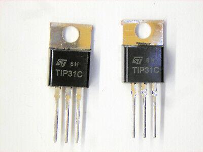 Tip31c Original St Transistor 2 Pcs