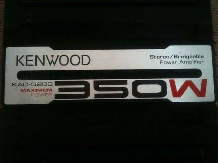 Kenwood Amplifier KAC-5203- HUGE 350W Yarraville Maribyrnong Area Preview
