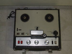 Sony TC-200 Reel to Reel Vintage Parts or Repair