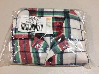 Nwt Gymboree Christmas Plaid Boys Girls Flannel Pajamas Holiday Many Sizes
