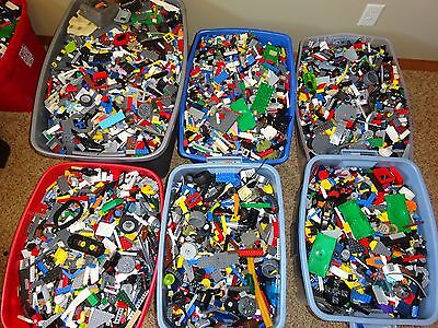 Lego 2 Pound! TWO LBS Of Clean Gently Used Genuine Lego's Bulk Lot Free Shipping