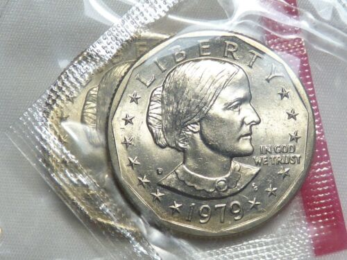 1979 D SUSAN B. ANTHONY $1 Dollar OGP Mint Cello Uncirculated BU SBA