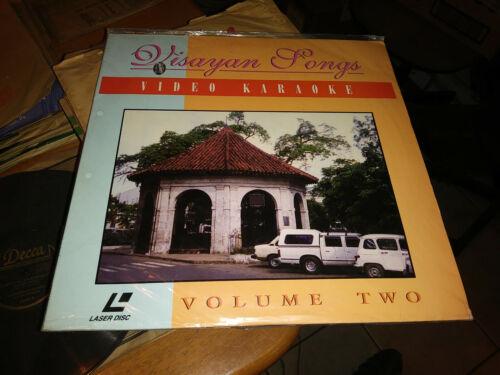Visayan Songs Video Karaoke Volume 2 Philippine Laser Disc Brand New Sealed