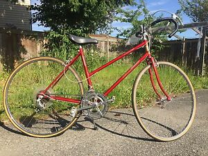 Vintage womens road bike