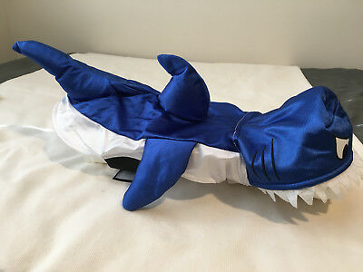 Halloween Shark Costume for Dog,  Size: 12in (30.5cm) , Brand New (Dog Shark Halloween Costume)