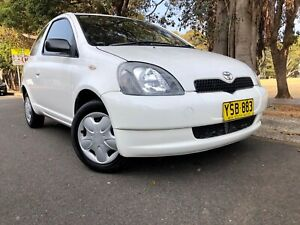 2002 Toyota Echo VVT-i 4Speed Automatic Hatchback 6months Rego Low Kms