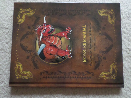 Monster Manual 1st edition hardcover reprint  Dungeons & Dragons