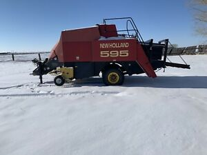 595 New Holland 3x4 Baler