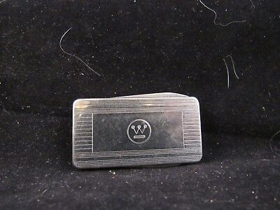 VINTAGE WESTINGHOUSE ADVERTISING MONEY CLIP FOLDING POCKET KNIFE BY IMPERIAL