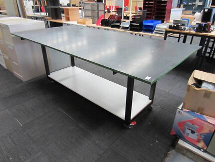 2x mobile workbench steel frame 2440x1220 - Workbench Frame