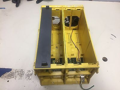 Fanuc 18-TC Rack, A02B-0228-B502 w/ Base Board A20B-2001-0190, Used, WARRANTY