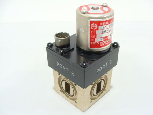 Sector Microwave WR62 12.4 - 18GHz Waveguide Switch SMU-4CL1 28VCD 4-Port