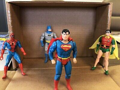 SUPERMAN - Batman, Robin & Spiderman