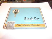 Black Cat Cigarette Tin