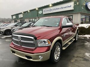 2014 RAM 1500 Longhorn LEATHER/SUNROOF/HEATED STEERING/BACKUP...