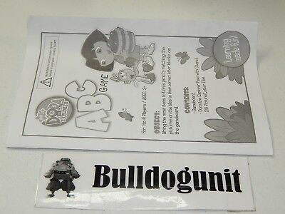 (2006 Dora The Explorer ABC Board Game Replacement Instructions Only )
