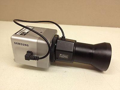 Samsung SCC-B1310N CCTV Camera w/ 5-100mm Lens Long Range Color Surveillance Cam