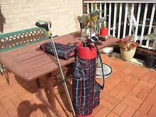 Set of  mix golf clubs with bag Epping Whittlesea Area Preview