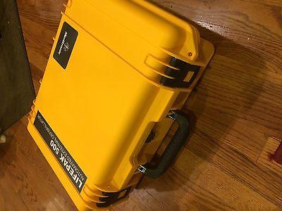 Lifepak 500 External Defibrillator Carrying Pelican Case