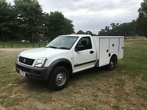 2005 Holden rodeo ute rego and rwc Boronia Knox Area Preview