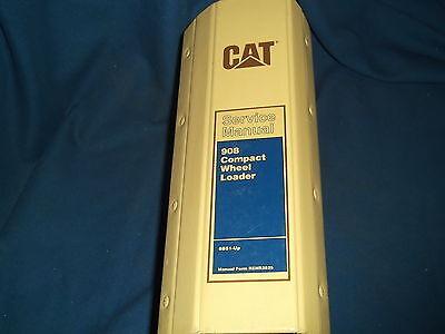 Cat Caterpillar 908 Compact Wheel Loader Service Shop Repair Book Manual 8bs1-up