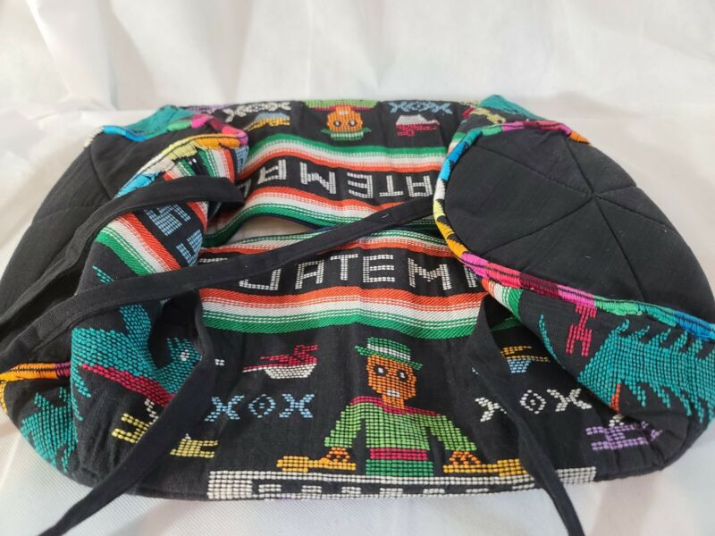 Vintage Zip Up Bag From Guatemala