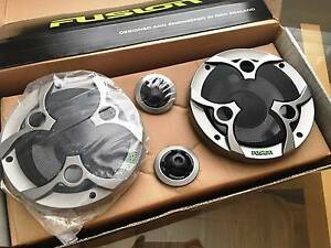 "Fusion Reactor 5.25"" Component Speakers – New - Complete kit Lilyfield Leichhardt Area Preview"
