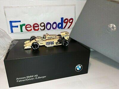 1:43 Arrows BMW A8 Collector's Model DEALER's CHOICE  DETROIT Grand Prix 1985