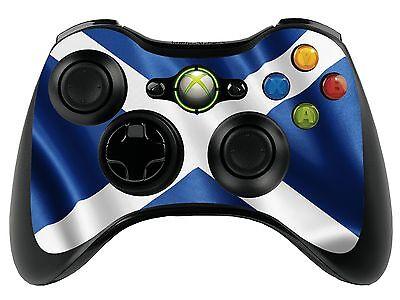 Scotland Flag Xbox 360 Remote Controller/Gamepad Skin / Cover / Vinyl  xbr34