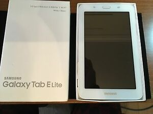 Samsung tab E lite  7 inch screen