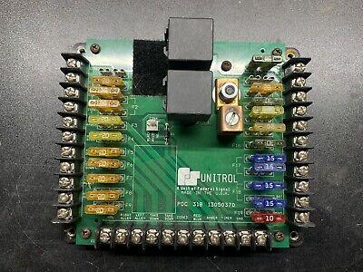 Federal Signal Unitrol Pdc-318 Circuit Board Power Distribution Center