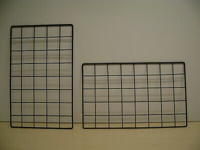 Black Wire Gridwall Rectangle Panels 16 X 10 Box Of 48
