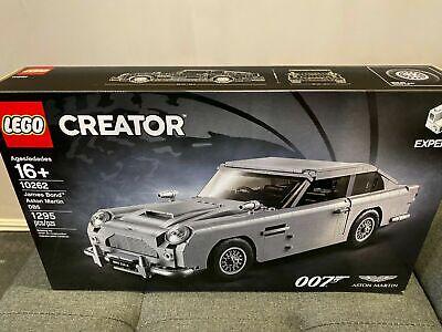 LEGO James Bond Aston Martin Car DB5 Creator Expert (10262) NIB Mint