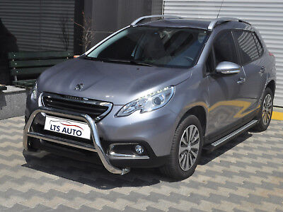 PEUGEOT 2008 CHROME NUDGE A/BAR, STAINLESS STEEL BULL BAR 2013 ONWARDS W K