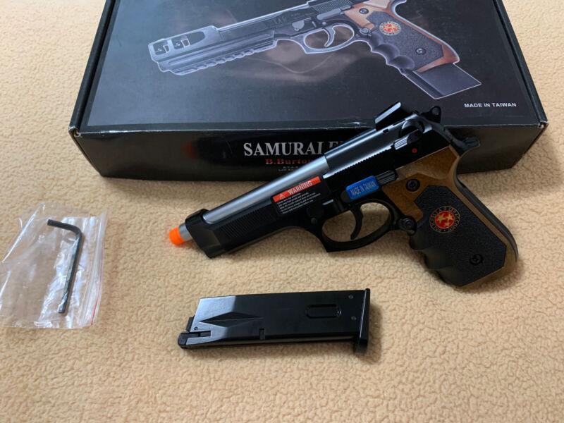 WE-Tech Samurai Edge M9 Beretta Airsoft GBB Pistol