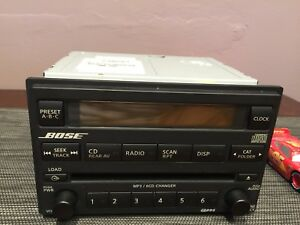 Bose car radio CD player for Nissan
