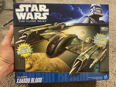 Star Wars 2010 Cad Bane's Xanadu Blood MISB Hasbro Clone Wars Starfighter