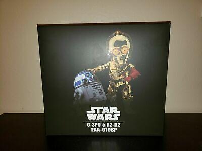 EAA-010SP Star Wars Episode VII C-3PO & R2-D2 Combo Set by Beast Kingdom Co. (Episode Vii)