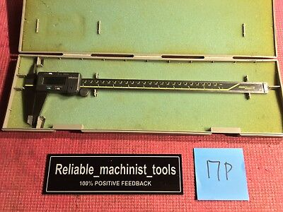 Excellentmitutoyo Japan Made 12 In Absolute Digital Calipermachinist Tool17p