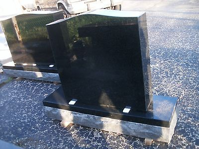 Cemetery headstone monument 24x6x24 includes engraving free shipping