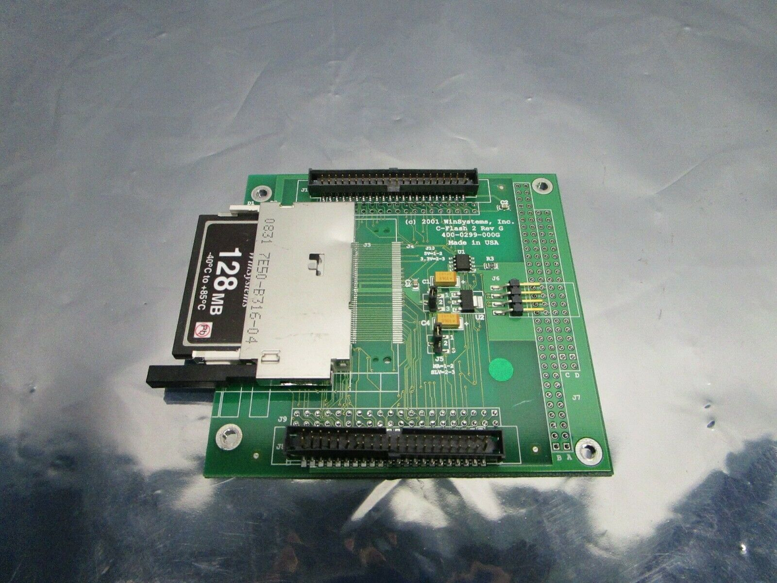 Win Systems 400-0299-000 C-Flash 2 PCB 400-0299-000G ADPCFLASH2-44-1912B, 101194