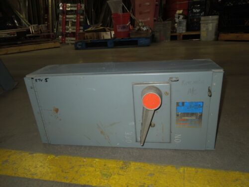 Challenger Qmqb2032r 200a 3p 240v Single Fusible Switch Unit Used