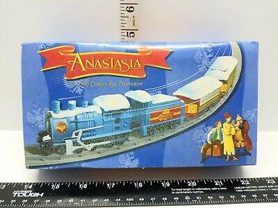 Anastasia 20th Century Fox Presents Mini Train Set 1997 Special Edition NOS