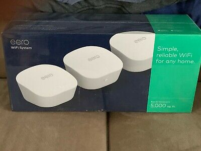 eero mesh (3rd Generation) Wi-Fi Router/Extender - Pack of 3 J010311