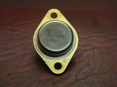 Vintage Lm337hvk Steel Adjustable High Voltage Regulator By National Semi To-3