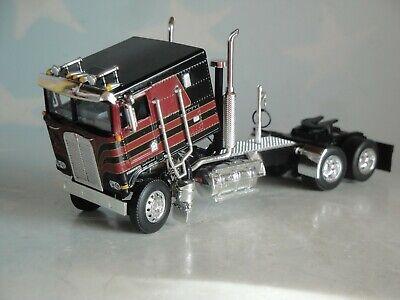 DCP BLACK RED  KENWORTH KW100 FLAT TOP 1/64 60-0695 C