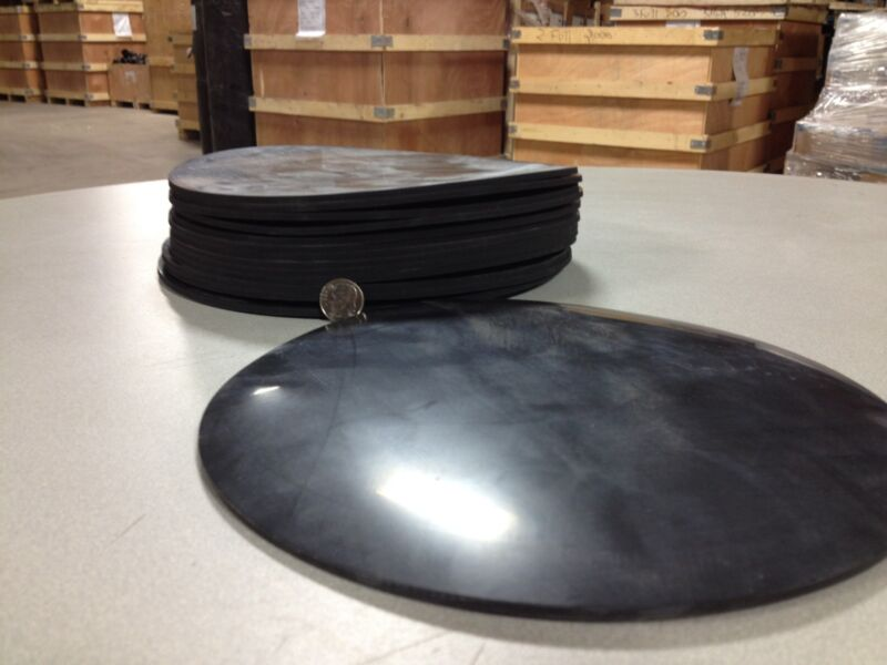 """Viton Rubber Gasket Material - 8 inch Disc x 1/8"""" - 1 piece"""