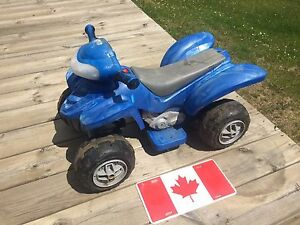 Riding Quads Power Wheels Battery Electric Push & Pedal Tricycle
