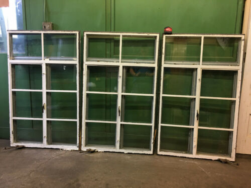 Set of 5 Steel Industrial Residential Casement Windows Reclaimed Factory