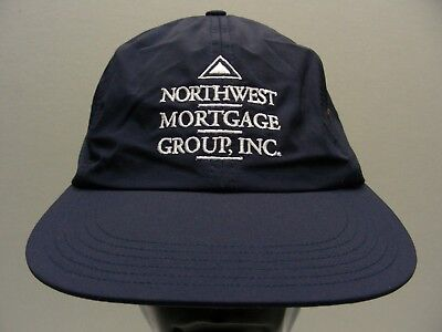 Northwest Mortgage Group   Navy Blue   Nylon   Adjustable Ball Cap Hat